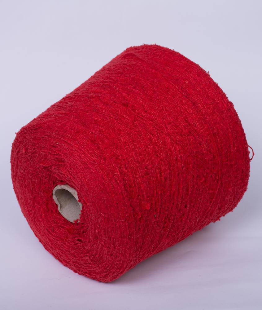 Буретный шёлк  красный